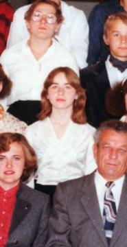 Elisabeth Fritzl (his daughter) 24 years ago