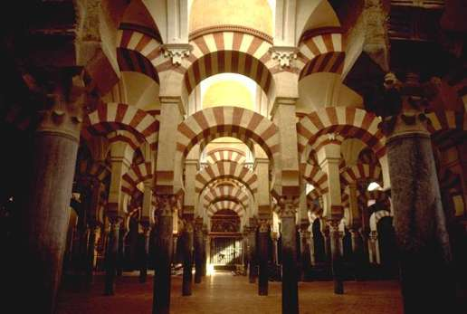 The Great Mosque of Cordoba , Spain