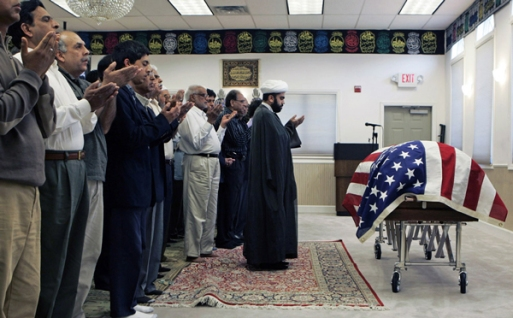 New York State: Prayer for a US Muslim Slodier Killed on Duty in Afghanistan